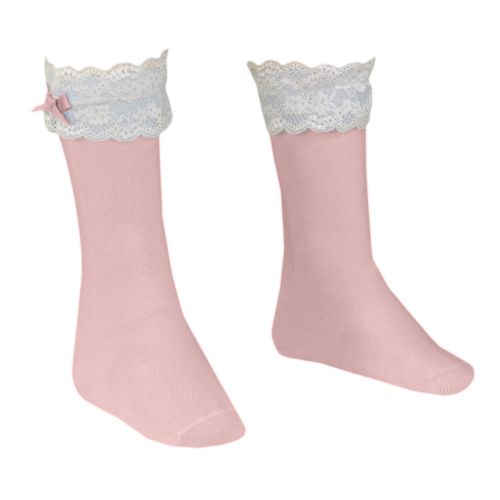 Girls Dolce Petit Socks - Pink