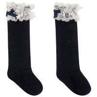 Girls Dolce Petit Socks - Navy
