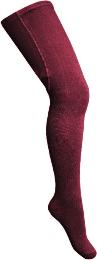 Girls Dolce Petit Tights - Burgundy