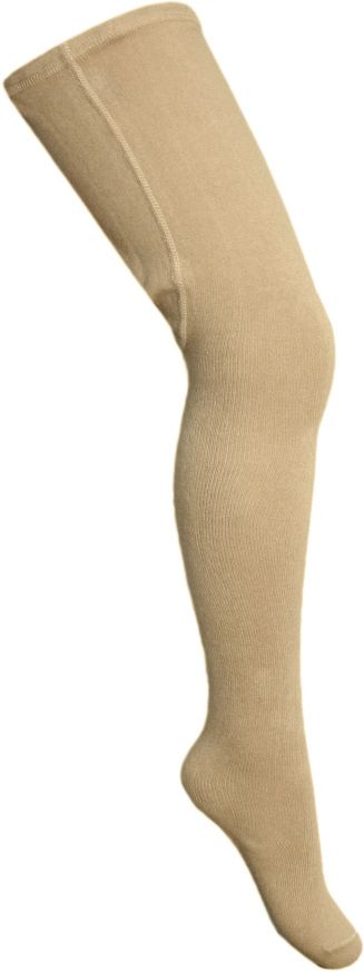Girls Dolce Petit Tights - Camel