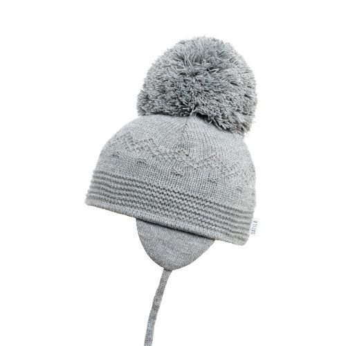 Satila Pom Pom Hat Belle Grey