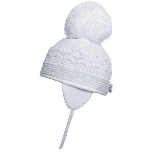 Satila Pom Pom Hat Belle White