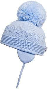 Satila Pom Pom Hat Belle Blue