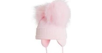 Satila Double Pom Pom Hat Tindra Pink