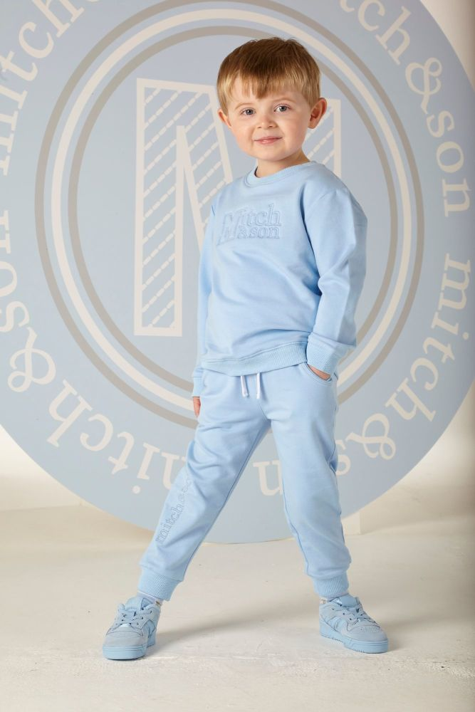 PRE ORDER SS20 Boys Mitch & Son Henry Trascksuit MS1317 Blue