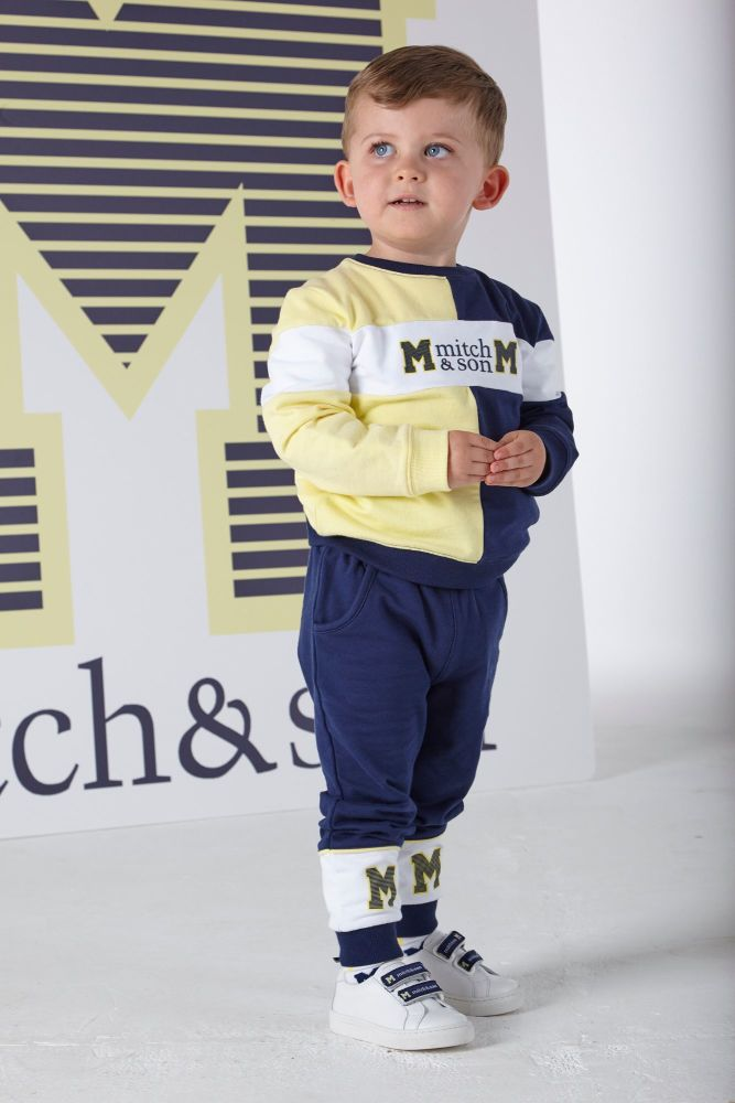 PRE ORDER SS20 Boys Mitch & Son Ocean Adventure Samuel Tracksuit MS1320