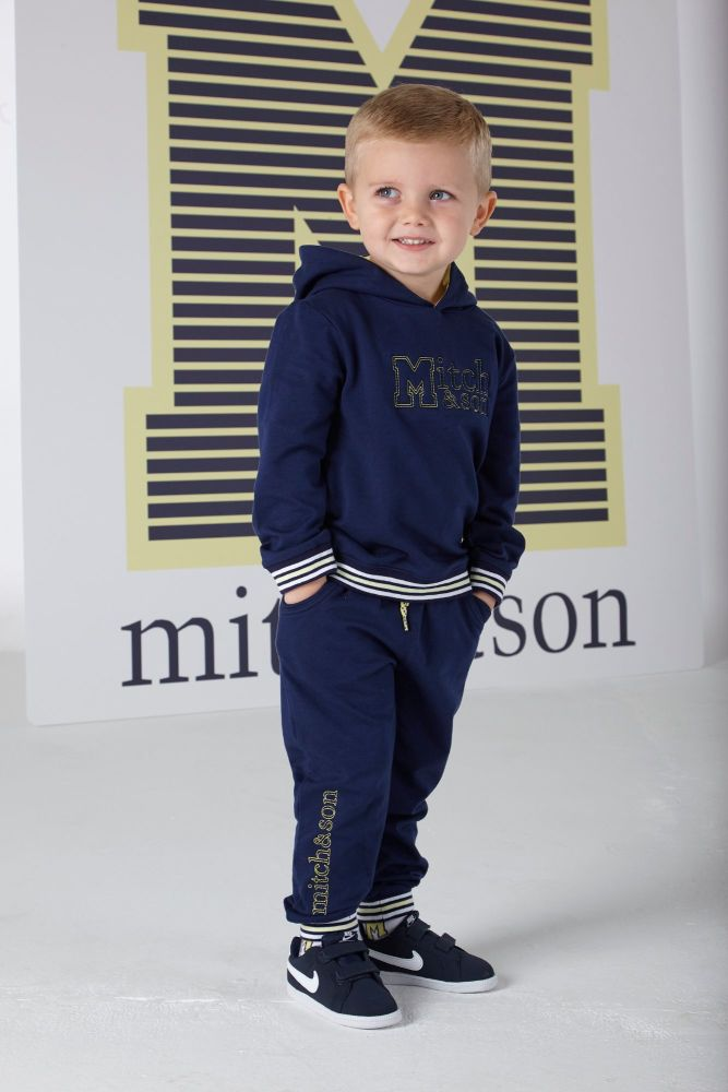 PRE ORDER SS20 Boys Mitch & Son Ocean Adventure Jackson Hooded Tracksuit MS