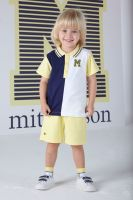 Boys Mitch & Son Ocean Adventure Blair Polo Shirt and Shorts Set