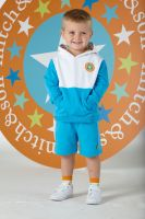 Boys Mitch & Son Super Stars Collection Joshua Hooded Sweatshirt and Shorts Set MS1338