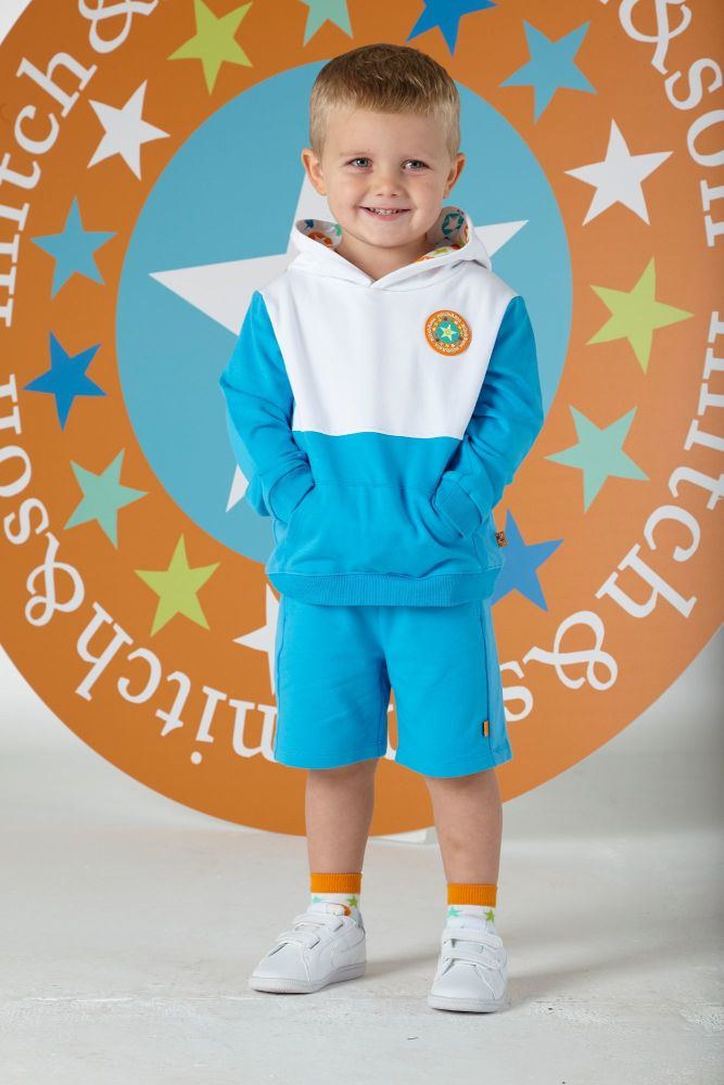 PRE ORDER SS20 Boys Mitch & Son Superstar Collection Hooded Sweatshirt and