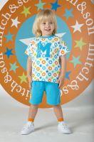 Boys Mitch & Son Super Stars Ryaan T Shirt and Shorts Set MS1342