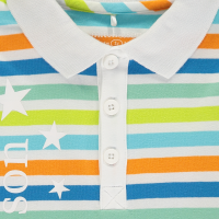 Boys Mitch & Son Super Stars Jaxon Polo and Aaron Shorts Set - 6m only