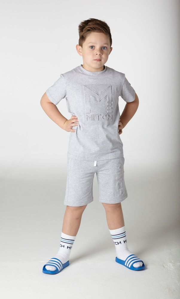 PRE ORDER SS20 Boys MiTCH Josiah T Shirt and Cameron Shorts Set