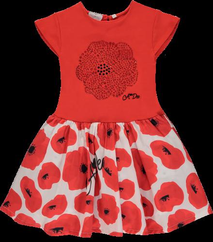 PRE ORDER SS20 Girls A*Dee Poppy Garden Andrea Dress S201700