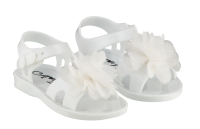 Girls A*Dee Suzy Jelly Shoes SS20SH1 - White
