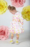 Girls A*Dee Falling Roses Barbara Hooded Jacket S202202