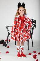 Girls A*Dee Poppy Garden Abella Hooded Jacket S201200