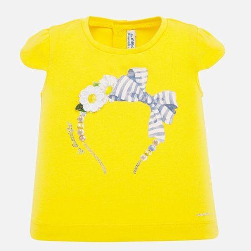 Girls Mayoral Short Sleeve T Shirt 1060