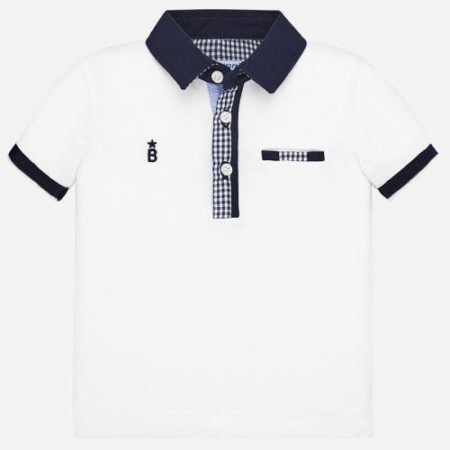 Boys Mayoral Polo Shirt 1145 - White