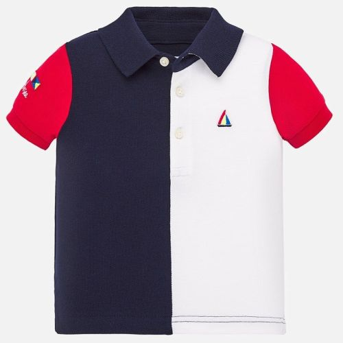 Boys Mayoral Polo Shirt 1148 - Navy