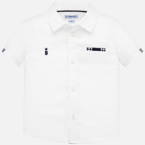 Boys Mayoral Short Sleeve Shirt 1157