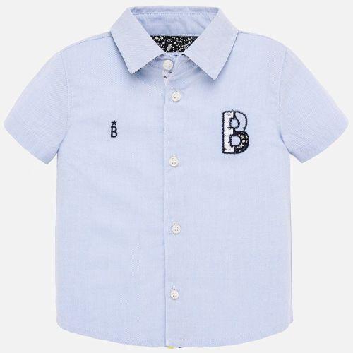 Boys Mayoral Short Sleeve Shirt 1160
