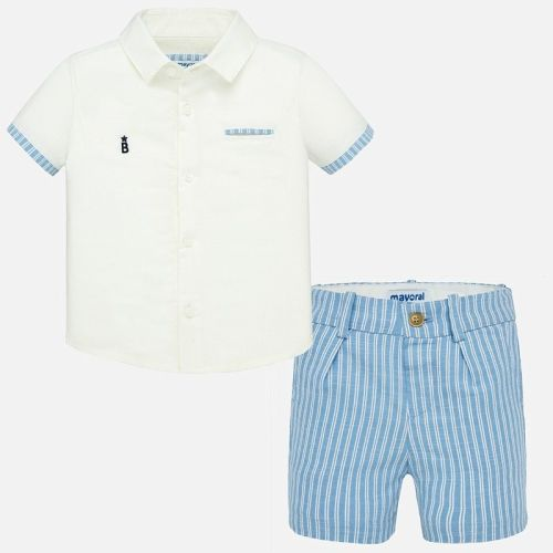 Boys Mayoral Shirt and Shorts Set 1293