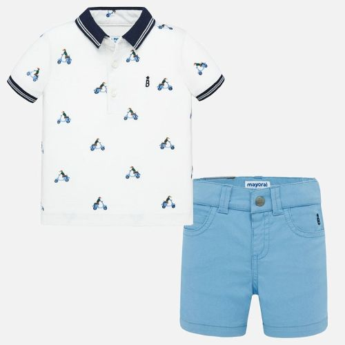 Boys Mayoral Polo Shirt and Shorts Set 1295
