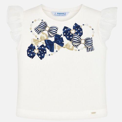 Girls Mayoral Short Sleeve T Shirt 3002