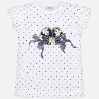 Girls Mayoral Short Sleeve T Shirt 3015