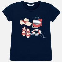 Girls Mayoral Short Sleeve T Shirt 3017