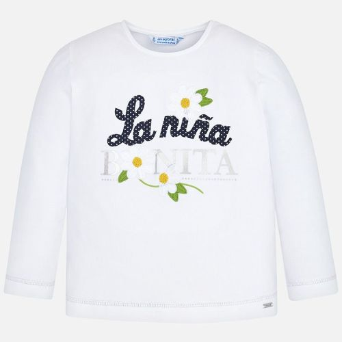 Girls Mayoral Long Sleeve T Shirt 3019