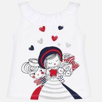 Girls Mayoral Sleeveless T Shirt 3022
