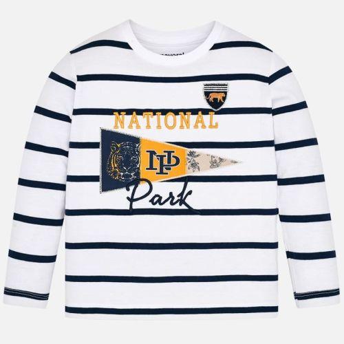 Boys Mayoral Long Sleeve T Shirt 3074