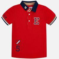 Boys Mayoral Polo Shirt 3154 - Hibiscus