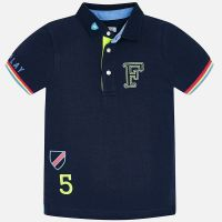 Boys Mayoral Polo Shirt 3154 - Blue