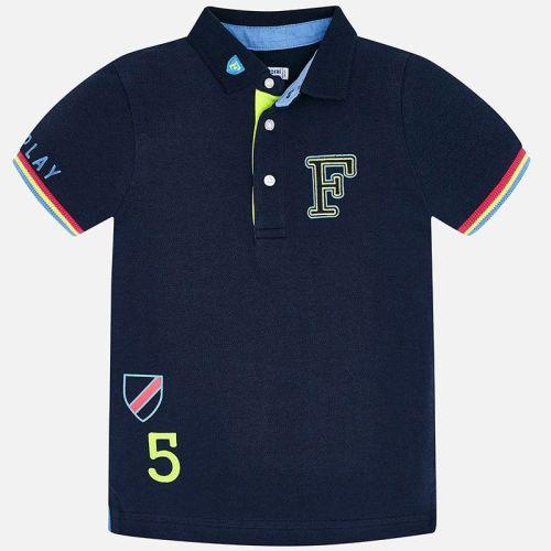 Boys Mayoral Polo Shirt 3154 - Blue