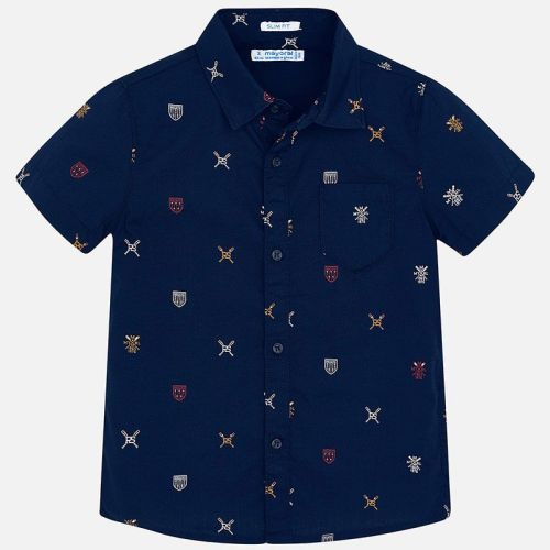 Boys Mayoral Short Sleeve Shirt 3166
