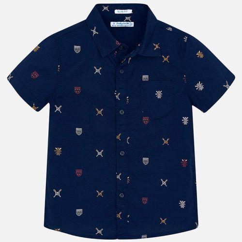 Boys Mayoral Short Sleeve Shirt 3166