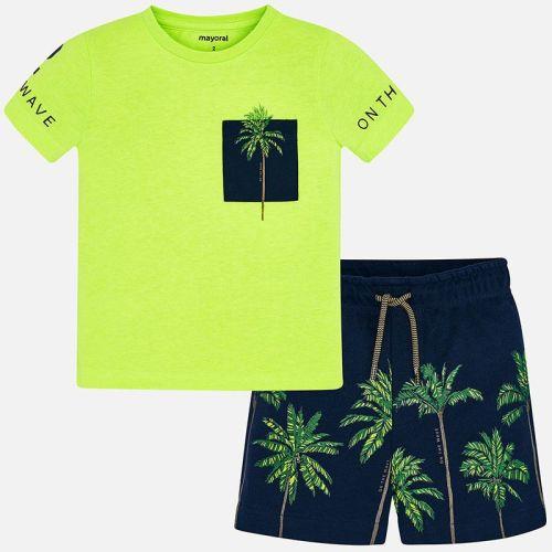 Boys Mayoral Polo Shirt and Shorts Set 3623