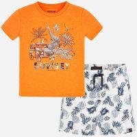 Boys Mayoral T Shirt and Shorts Set 3625