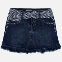 Girls Mayoral Skirt 3903 - Super Dark