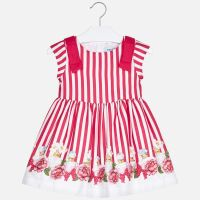 Girls Mayoral Dress 3929 Strawberry