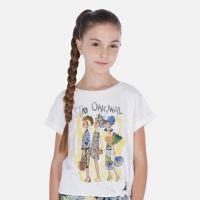 Girls Mayoral T Shirt 6020