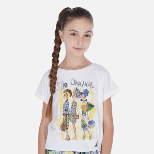 Girls Mayoral T Shirt 6020
