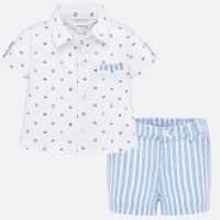 Boys Mayoral Shirt and Shorts Set 1271