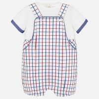 Boys Mayoral Dungaree Set 1664 - Cuore 53