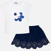 Girls Mayoral Top and Skirt Set 3965