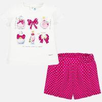 Girls Mayoral Top and Shorts Set 1211