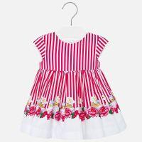 Girls Mayoral Dress 1920 - Strawberry